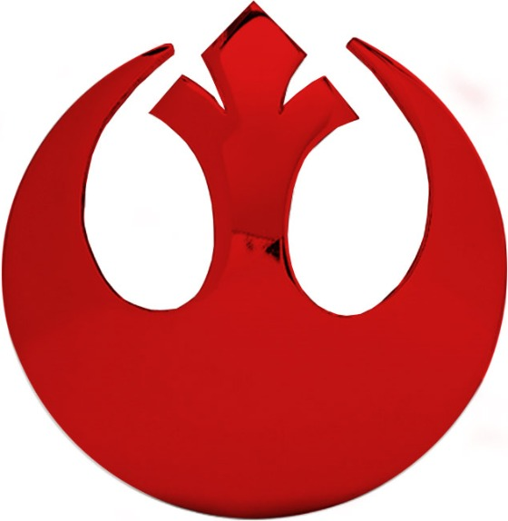star wars rebel alliance logo belt buckle