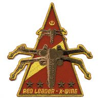 Star Wars Red Leader Patch