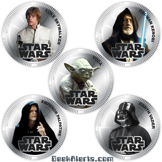 Star Wars Silver Coins