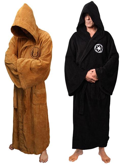 Star Wars Sith and Jedi Bathrobes