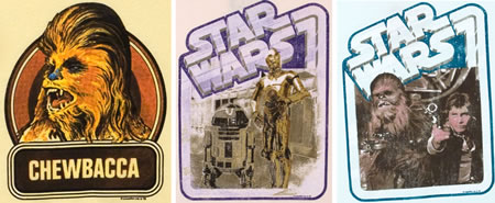Retro Star Wars T-shirts