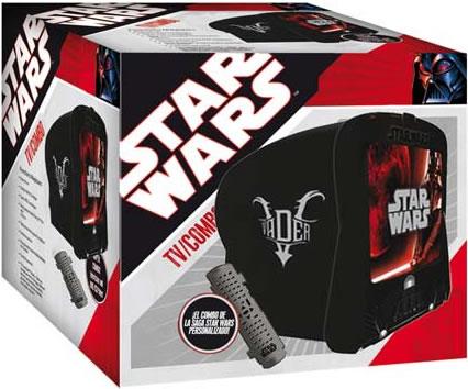 Star Wars TV/DVD with Lightsaber Remote