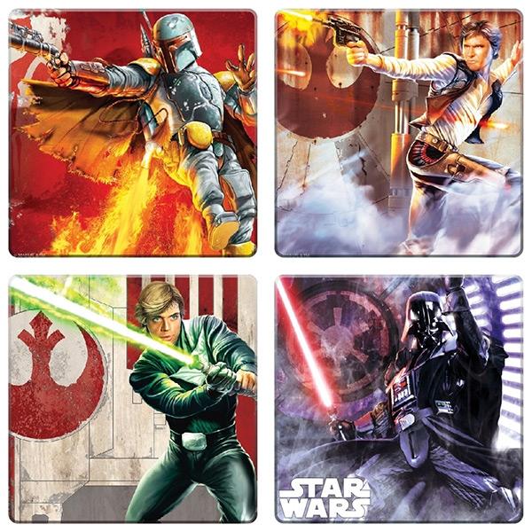 Star Wars Wood Coasters