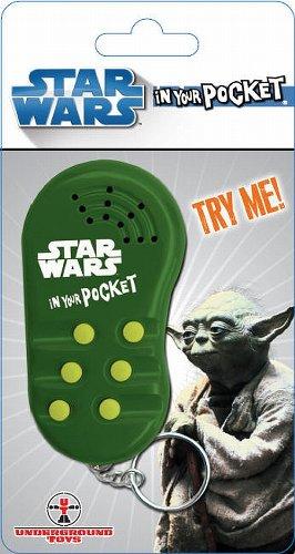 Yoda Talking Keychain