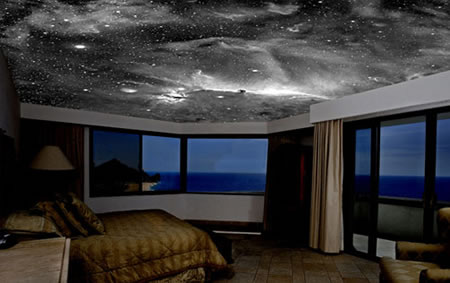 5d star murals on your ceiling - Night sky painting on ceiling ...