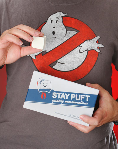 Ghostbusters Stay Puft Caffeinated Marshmallows