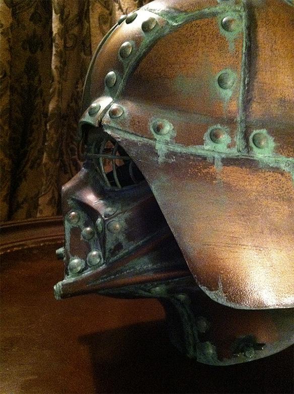 Steampunk Darth Vader Helmet