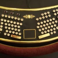 Ergonomic Steampunk Keyboard