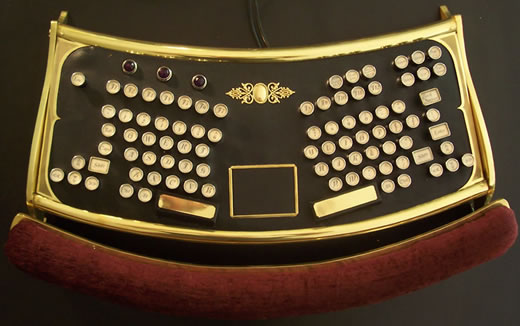 Ergonomic Steampunk Keyboard