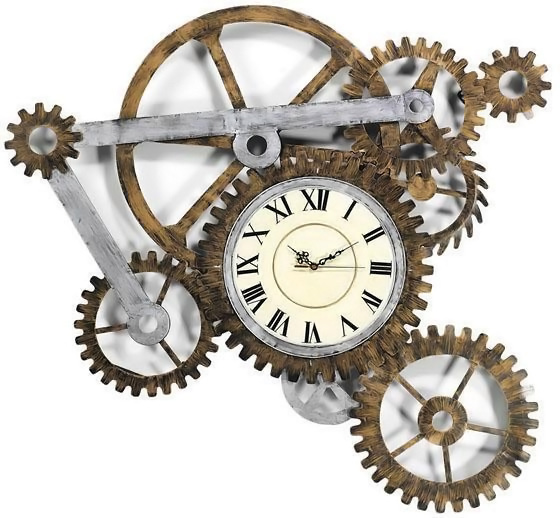Genial Steampunk Wall Clock