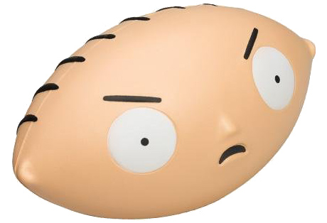Family Guy Stewie Football Head