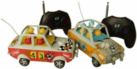 Stock Cars Remote Control Toy