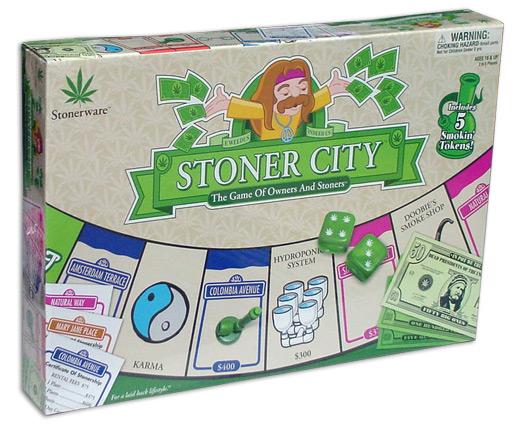 Stoner City Board Game