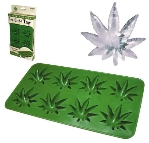 Marijuana Leaf Ice Cube Tray
