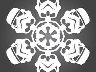 Star Wars Stormtrooper Snowflake