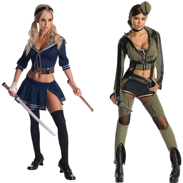 Sucker Punch Babydoll and Amber Costumes