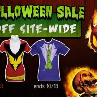 SuperHeroStuff Halloween Sale