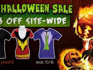 SuperHeroStuff Halloween Sale