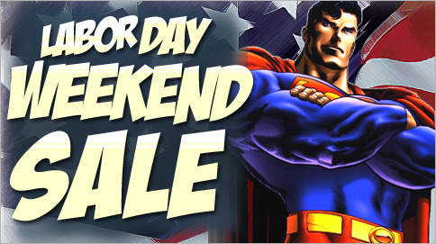 SuperHeroStuff Labor Day Sale