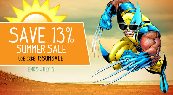 SuperHeroStuff Summer Sale Coupon Code