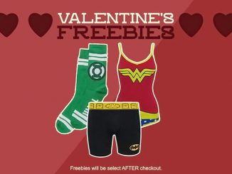 SuperHeroStuff Valentines Day Freebies