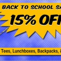 SuperHeroStuff.com Back to School Sale