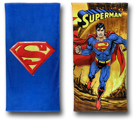 Superman Beach Towels