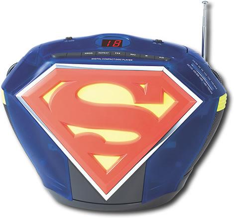 Superman Boombox