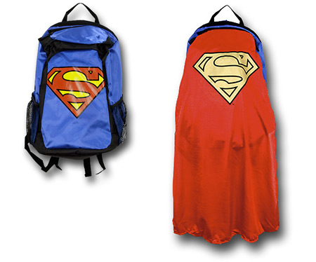 Superman Cape Backpack