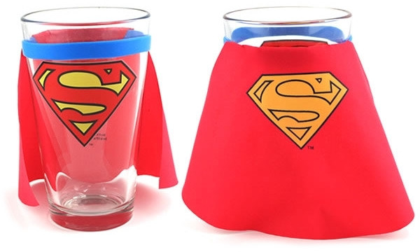 Superman Cape Glass