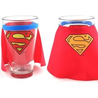 Superman Cape Drinking Glass