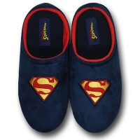 Superman Fleece Slippers