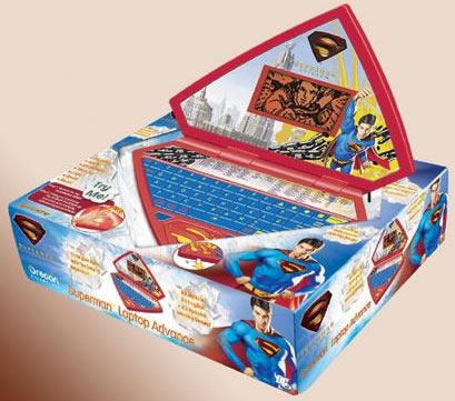 Superman Laptop Advance