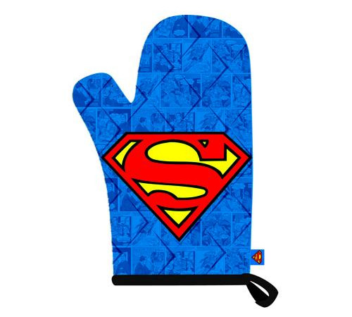 Superman Logo Oven Mitt