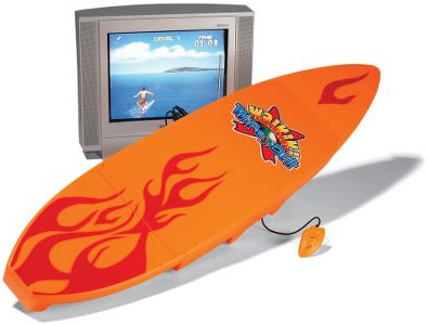 Interactive Surfboard TV Game