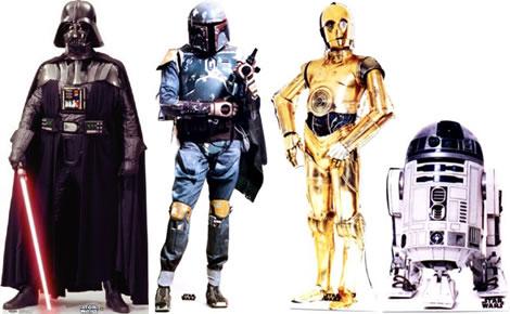 Star Wars Life-size Cardboard Figures