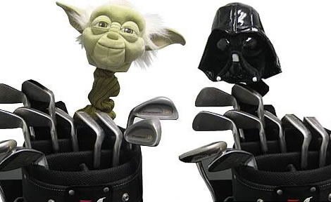 Star Wars Golf Club Covers