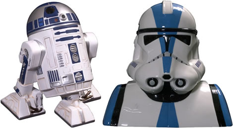 Star Wars Cookie Jars
