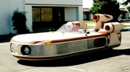 Star Wars Landspeeder Car