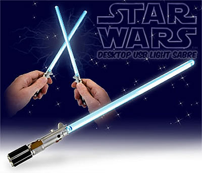 Star Wars Lightsaber USB Lamp
