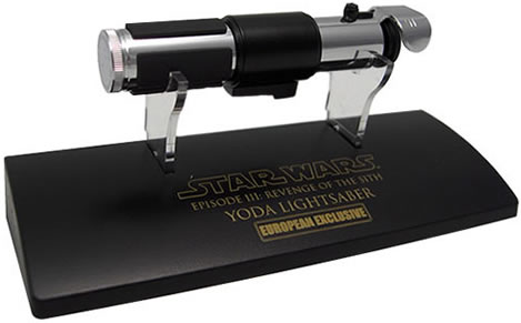Star Wars Episode III Scaled Lightsaber
