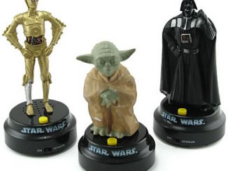 Star Wars Talking Dashboard Statues