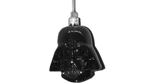 Darth Vader Glass Ornament
