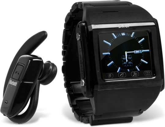 sWaP - Cell Phone Watch with Bluetooth