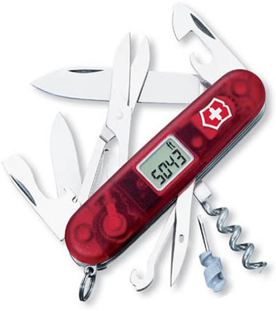 Swiss Army Knife With Digital Altimeter