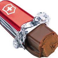 Swiss Army Knife Chocolate