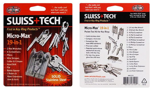 Swiss Tech Micro Max Stainless Steel Multi-Tool