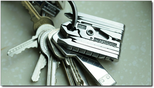 Swiss-Tech MicroMax Multitool Key Chain