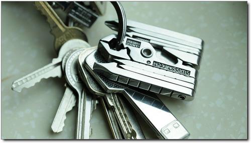 Swiss-Tech MicroMax Multitool Key Chain