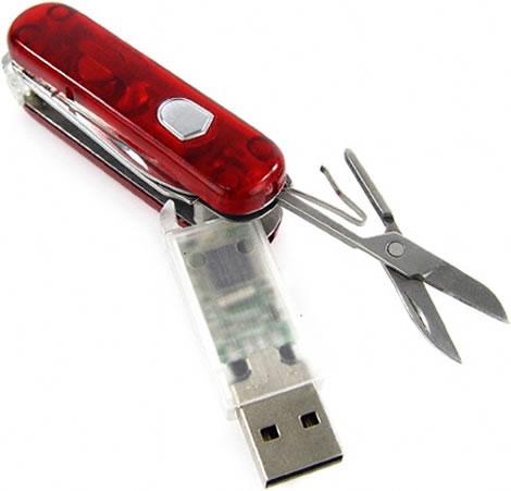 8GB Swiss Army Knife USB Drive
